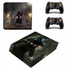 Vampyr decal skin sticker for PS4 Pro console and controllers