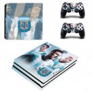 Argentine Football Association decal skin sticker for PS4 Pro console and controllers