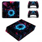Abstract wallpaper decal skin sticker for PS4 Pro console and controllers