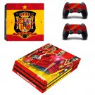 2018 FIFA World Cup Spain decal skin sticker for PS4 Pro console and controllers