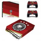2018 FIFA World Cup Deutscher decal skin sticker for PS4 Pro console and controllers