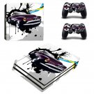 Car Wallpaper decal skin sticker for PS4 Pro console and controllers