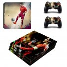 2018 FIFA World Cup Cristiano Ronaldo decal skin sticker for PS4 Pro console and controllers