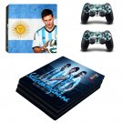 2018 FIFA World Cup Messi decal skin sticker for PS4 Pro console and controllers