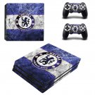 Chelsea FC decal skin sticker for PS4 Pro console and controllers