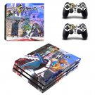Fate Extella decal skin sticker for PS4 Pro console and controllers