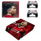 Roberto Firmino decal skin sticker for PS4 Pro console and controllers