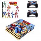 Mega Man 2 decal skin sticker for PS4 Pro console and controllers