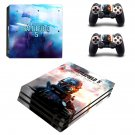 Battlefield 5 decal skin sticker for PS4 Pro console and controllers