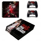 James Harden decal skin sticker for PS4 Pro console and controllers