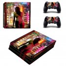 Sexy Lady decal skin sticker for PS4 Pro console and controllers
