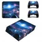 Galaxy Wallpaper decal skin sticker for PS4 Pro console and controllers