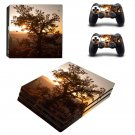 Tree wallpaper decal skin sticker for PS4 Pro console and controllers