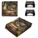 Dark Hedges decal skin sticker for PS4 Pro console and controllers