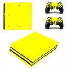 Single Color decal skin sticker for PS4 Pro console and controllers