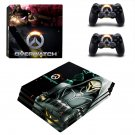 Overwatch decal skin sticker for PS4 Pro console and controllers