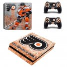 Philadelphia Flyers decal skin sticker for PS4 Slim console and controllers