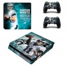 Carson Wentz decal skin sticker for PS4 Slim console and controllers