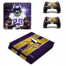 Minnesota Vikings decal skin sticker for PS4 Slim console and controllers