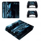 Mortal Kombat X decal skin sticker for PS4 Slim console and controllers