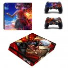 Tokyo Ghoul decal skin sticker for PS4 Slim console and controllers