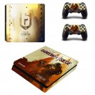Tom Clancy's Rainbow Six Siege decal skin sticker for PS4 Slim console and controllers