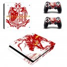Monster Hunter World decal skin sticker for PS4 Slim console and controllers