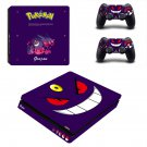 Pokemon Go decal skin sticker for PS4 Slim console and controllers