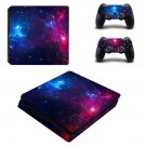 Galaxy Scene decal skin sticker for PS4 Slim console and controllers
