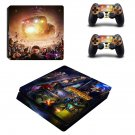 Avengers infinity war decal skin sticker for PS4 Slim console and controllers