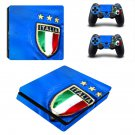 Italy national FT decal skin sticker for PS4 Slim console and controllers