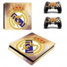 Real Madrid FC decal skin sticker for PS4 Slim console and controllers