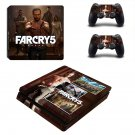 Far Cry 5 decal skin sticker for PS4 Slim console and controllers