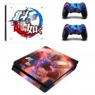 Hokuto ga Gotoku decal skin sticker for PS4 Slim console and controllers