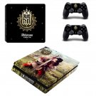 Kingdom Come Deliverance decal skin sticker for PS4 Slim console and controllers