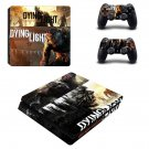 Dying Light decal skin sticker for PS4 Slim console and controllers