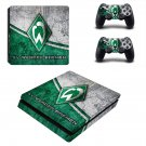 SV Werder Bremen FT decal skin sticker for PS4 Slim console and controllers