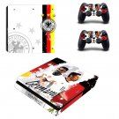 Germany national football team decal skin sticker for PS4 Slim console and controllers