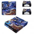 Queen of the night art decal skin sticker for PS4 Slim console and controllers