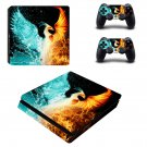 Your Soaring Phoenix decal skin sticker for PS4 Slim console and controllers