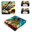 Metal Max Xeno decal skin sticker for PS4 Slim console and controllers