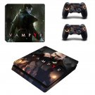 Vampyr decal skin sticker for PS4 Slim console and controllers