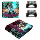 Bloodstained Ritual of the Night decal skin sticker for PS4 Slim console and controllers