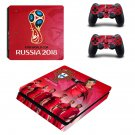 2018 FIFA World Cup Portugal decal skin sticker for PS4 Slim console and controllers