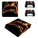 A Nightmare on Elm Street decal skin sticker for PS4 Slim console and controllers