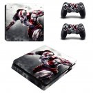 God of War decal skin sticker for PS4 Slim console and controllers