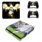 Real Madrid decal skin sticker for PS4 Slim console and controllers