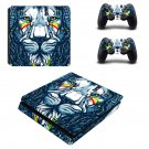 Lion Wallpaper decal skin sticker for PS4 Slim console and controllers
