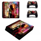 Sexy Lady decal skin sticker for PS4 Slim console and controllers