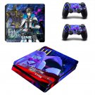 Fate Extella decal skin sticker for PS4 Slim console and controllers